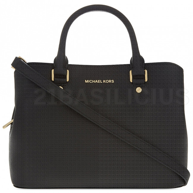 BORSA A MANO MEDIA SAVANNAH IN PELLE SAFFIANO 30S6GS7S2L001 MICHAEL KORS