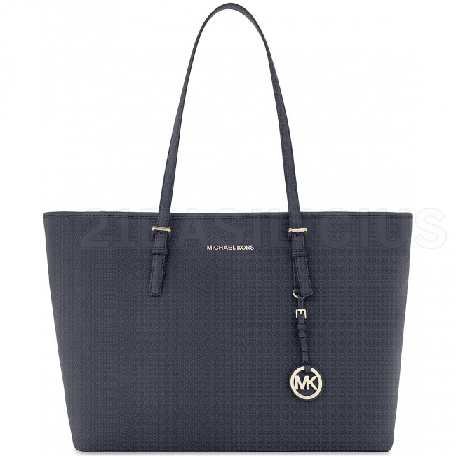 SHOPPING GRANDE TOT JET SET TRAVEL IN PELLE SAFFIANO 30T5GTVT2L414 MICHAEL KORS