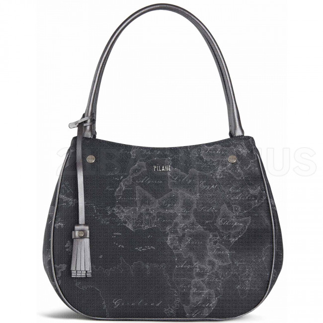 HOBO BAG GEO SILVER NIGHT LGN5395000001 ALVIERO MARTINI 1^ CLASSE