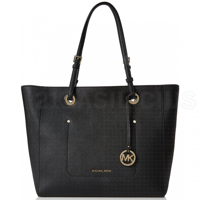 SHOPPING MEDIA TOTE WALSH IN PELLE SAFFIANO 30S7GWAT4L001 MICHAEL KORS