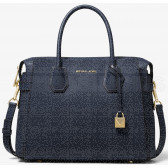 BORSA A MANO MEDIA MERCER IN PELLE MARTELLATA 30S9GM9S2L414 MICHAEL KORS