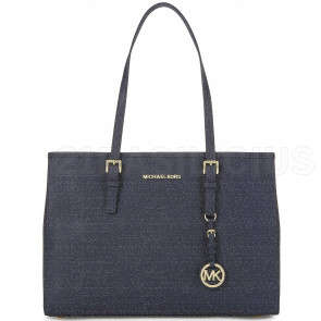 SHOPPING MEDIA TOT JET SET TRAVEL IN PELLE SAFFIANO 30T3GTVT7L414 MICHAEL KORS