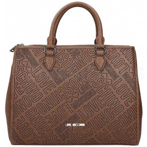BORSA A MANO EMBOSSED JC4226PP04KC0201 LOVE MOSCHINO