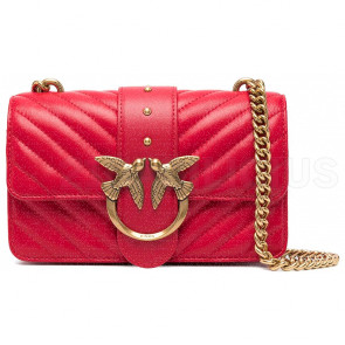 LOVE MINI ICON V QUILT BAG 1P227LY6XVR43 PINKO