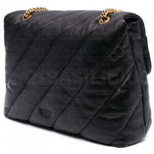 LOVE BIG PUFF MAXI QUILT BAG 1P22AWY6Y3Z99 PINKO