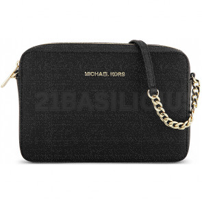 TRACOLLA MEDIA JET SET TRAVEL IN PELLE SAFFIANO 32S4GTVC3L001 MICHAEL KORS