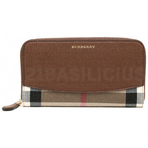 PORTAFOGLI ZIP 3975338 HOUSE CHECK DERBY BURBERRY