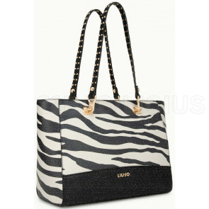 SHOPPING BAG ZEBRATA A69095E0329Y9125 LIU JO