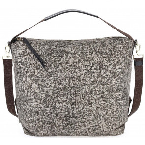 HOBO BAG MEDIA 934382296C45 BORBONESE