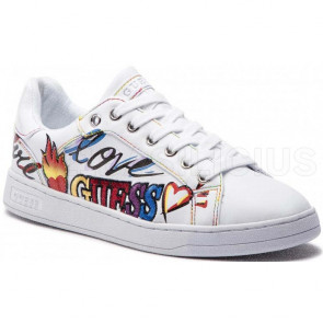 SNEAKERS STAMPA LATERALE CRAYZ FL5CRZELE12 GUESS
