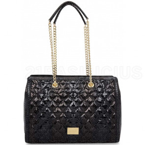 SOTTOSPALLA QUILTED SNAKE JC4025PP16LD0000 LOVE MOSCHINO