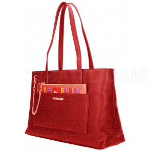 SHOPPING BAG PU JC4276PP06KK0500 LOVE MOSCHINO