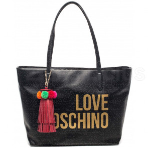 SHOPPING BAG GRAIN JC4310PP05KQ0000 LOVE MOSCHINO
